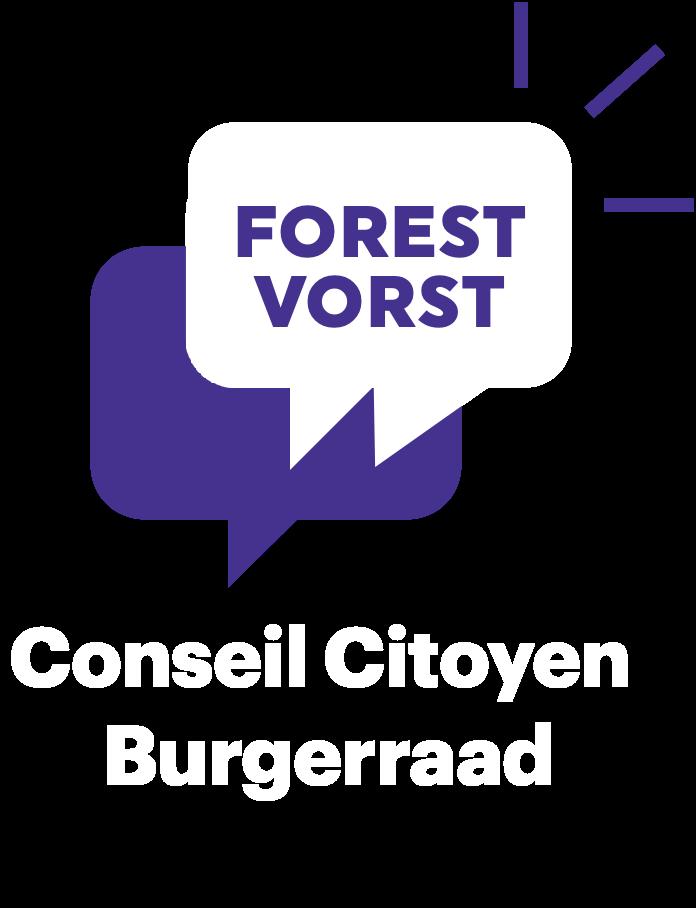 Logo Conseil Citoyen Forestois Purple _ Purple _ White